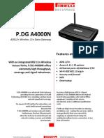 P.DG A4000N