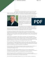 Isodoro Álvarez Alvarez. Presidente del Consejo de Administración de El Corte Inglés. Curriculum vitae
