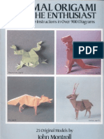 John Montroll - Animal Origami for Enthusiast