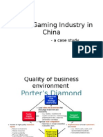 Online Gaming Industry in China
