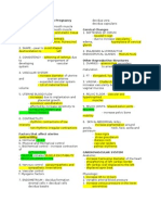 Case 1 -- Maternal Physiology