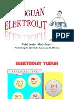 Presentasi Gangguan Elektrolit