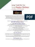 Chương Trình Đào Tạo Bảo Mật Thông Tin Security 365 Hacker Defence