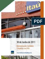 Itau IFRS 300611