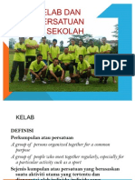 Definisi Kelab Dan Persatuan