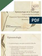 Epistemologia de la Tecnología