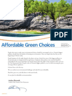 Affordable Green Choices