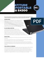 Dell Latitude e4200 and e4300 specs