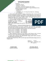 Surat Perintah Kerja & SPKB