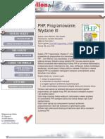 PHP. Programowanie. Wydanie III