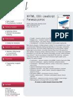XHTML, CSS i JavaScript. Pierwsza pomoc