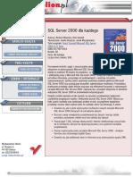 MS SQL Server 2000 dla każdego