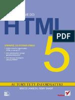 Wprowadzenie do HTML5. Autorytety Informatyki
