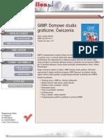 GIMP. Domowe studio graficzne. Ćwiczenia