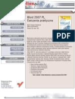 Word 2007 PL. Ćwiczenia praktyczne