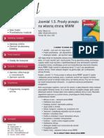 Joomla! 1.5. Prosty przepis na własną stronę WWW