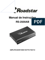 Manual Roadstar RS-2500ab