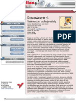 Dreamweaver 4. Vademecum profesjonalisty
