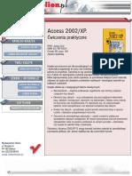 Access 2002/XP. Ćwiczenia praktyczne