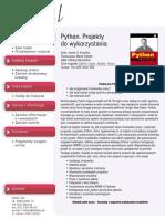 Python. Projekty do wykorzystania