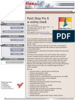 Paint Shop Pro 8 w wolnej chwili