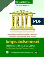 Modul Integrasi Dan Harmonisasi Perencanaan Pembangunan Daerah