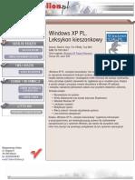 Windows XP PL. Leksykon kieszonkowy