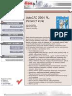 AutoCAD 2004 PL. Pierwsze kroki