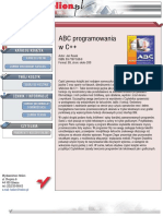 ABC programowania w C++