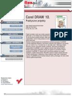 CorelDRAW 10. Praktyczne projekty