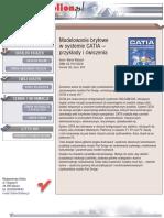 Modelowanie bryłowe w systemie CATIA. Przykłady i ćwiczenia
