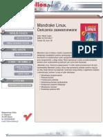 Mandrake Linux. Ćwiczenia zaawansowane