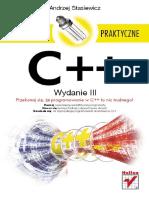 C++. Ćwiczenia praktyczne. Wydanie III