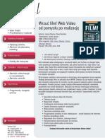 Wrzuć film! Web Video od pomysłu po realizację