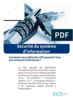 Securite Du Systeme Din Formation