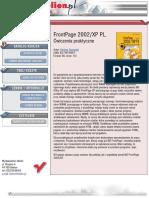 FrontPage 2002/XP PL. Ćwiczenia praktyczne