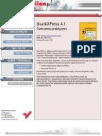 QuarkXPress 4.1. Ćwiczenia praktyczne