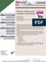 Extreme Programming. Leksykon kieszonkowy