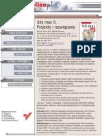3ds max 5. Projekty i rozwiązania