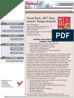 Visual Basic .NET. Bazy danych. Księga eksperta