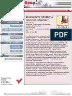 Dreamweaver UltraDev 4. Vademecum profesjonalisty