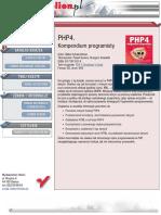 PHP4. Kompendium programisty