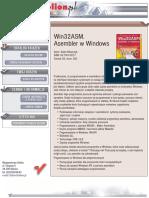 Win32ASM. Asembler w Windows