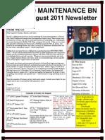 Aug 2011 Newsletter