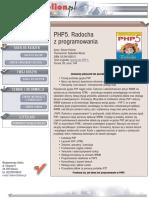 PHP5. Radocha z programowania