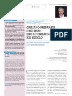 Giuliano Preparata Articolo Di r. Germano