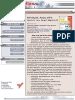 PHP i MySQL. Witryna WWW oparta na bazie danych. Wydanie III
