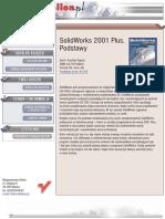 SolidWorks 2001 Plus. Podstawy