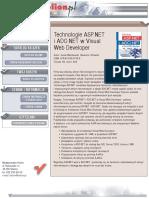 Technologie ASP.NET i ADO.NET w Visual Web Developer