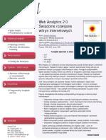 Web Analytics 2.0. Świadome rozwijanie witryn internetowych